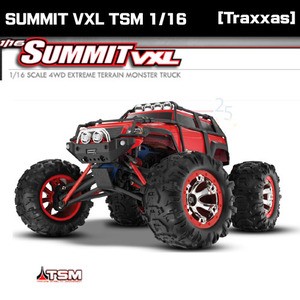 [Traxxas] 신형 미니서밋 4륜 VXL TSM 1/16 MINI SUMMIT 4WD TSM