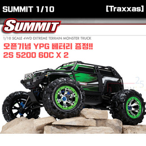 [Traxxas] 몬스터 크라울러 서밋 4륜 1/10 SUMMIT 4WD